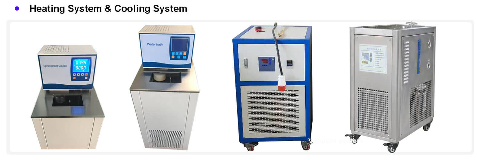 molecular distillation equipment temperature control system