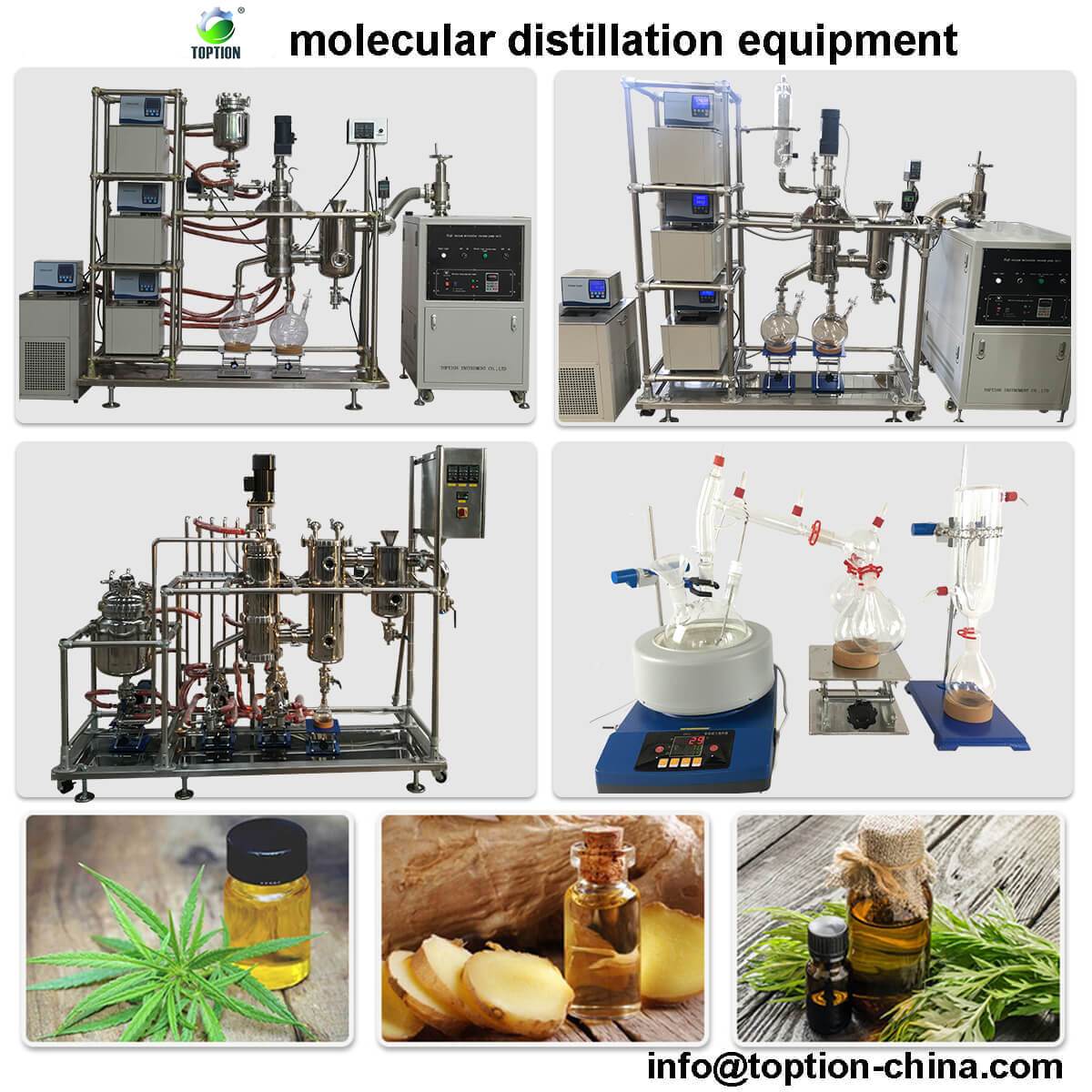 cbd molecular distillation equipment