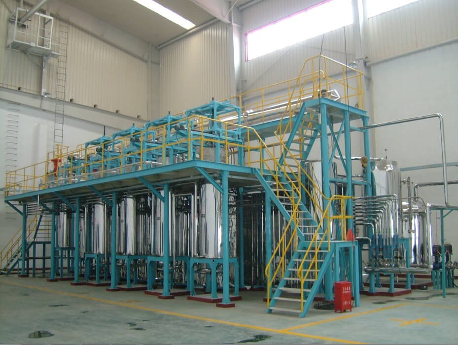 commerical scale supercritical co2 extraction plants processes