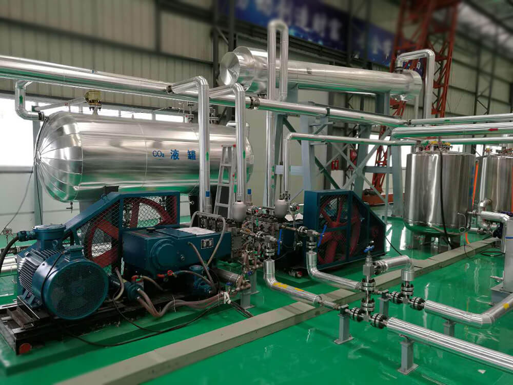 manufacturer of supercritical co2 extraction plant
