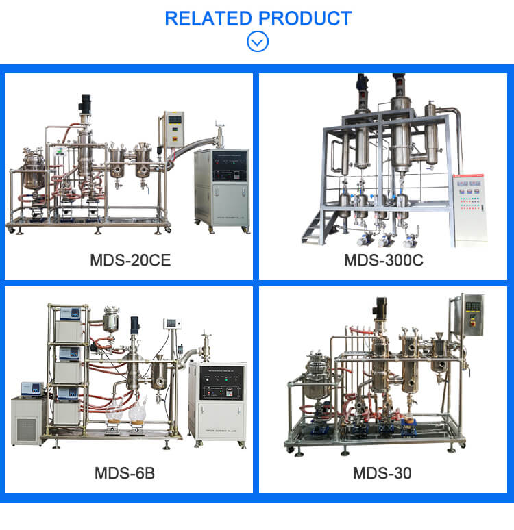 molecular distillation fish oil equipment