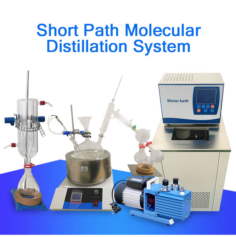 short path distillation kit