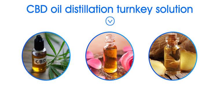 application of wiped film distillation