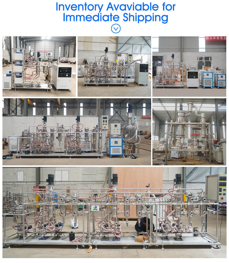 wiped film distillation supplier