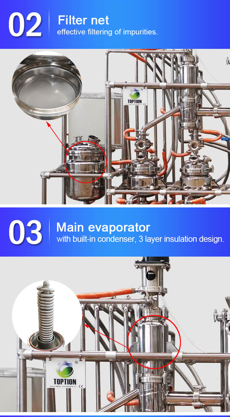clove oil extraction machine