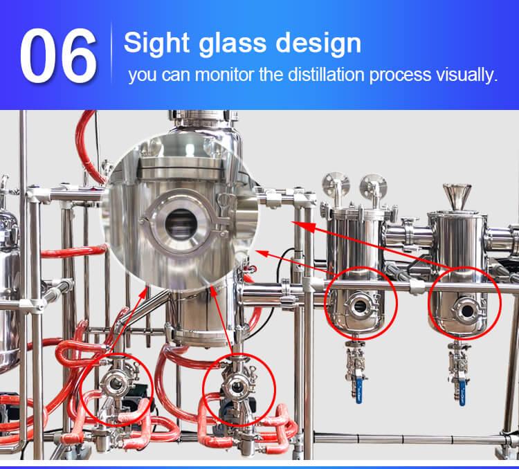 molecular distillation equipment design