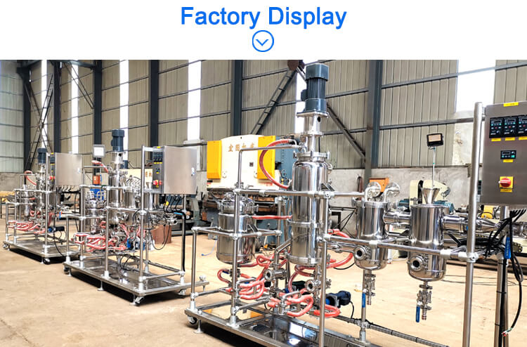 short path molecular distillation machine