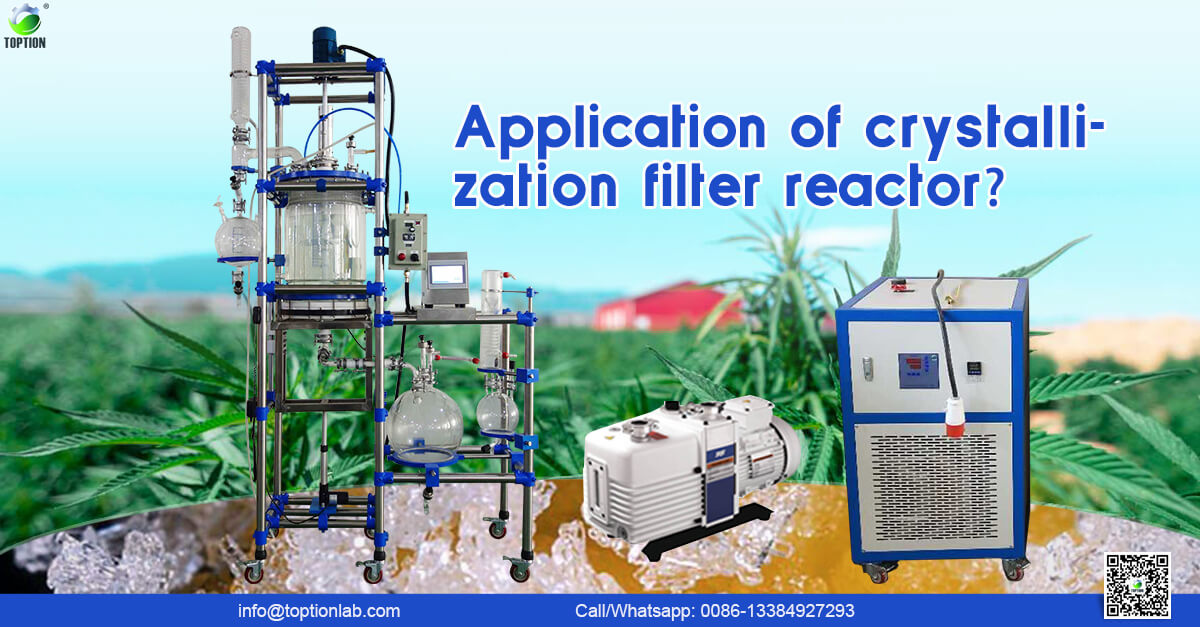 application of crystallization filter reactor