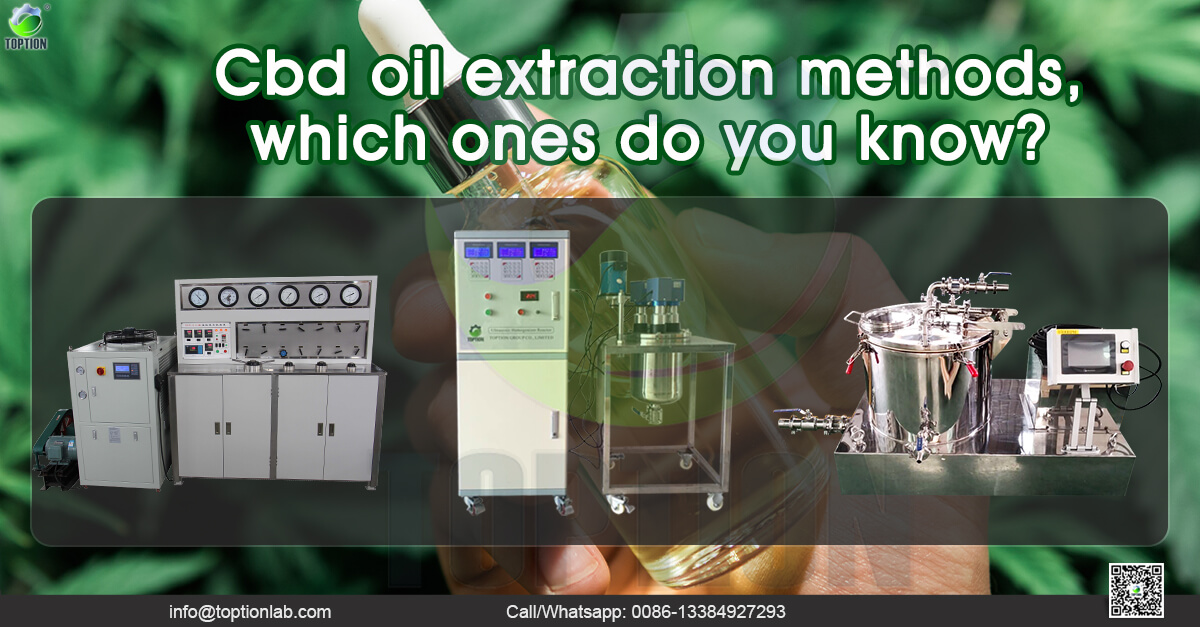 cbd oil extraction