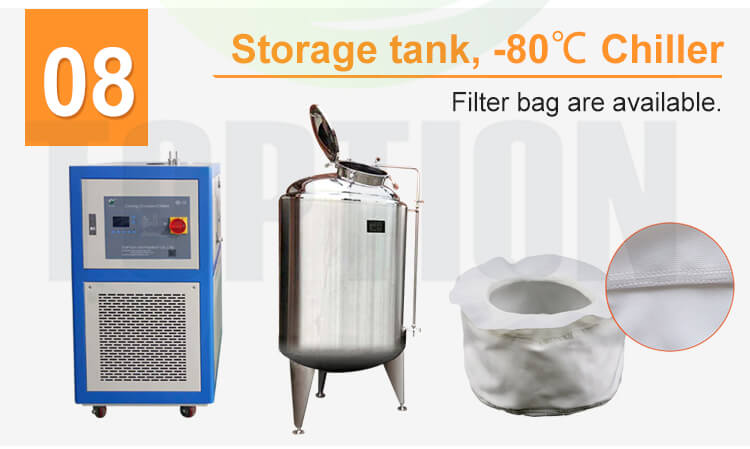 ethanol extraction centrifuge whole set
