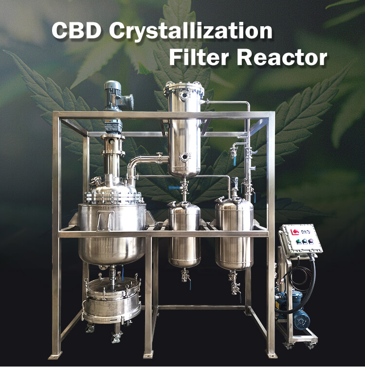 stainless steel crystallization reactor