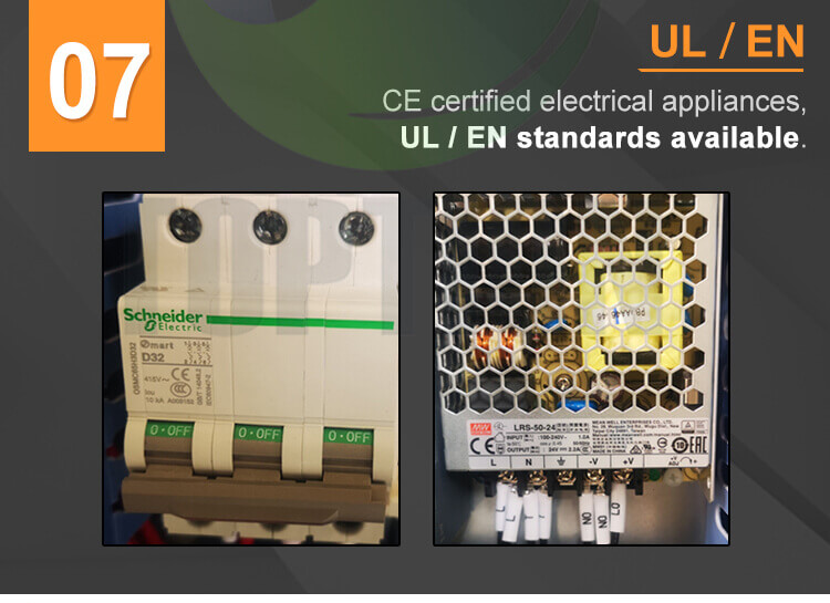 UL configurations extraction equipment